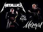 """Metallica – Mozart (Symphony No. 40 – MOZART HEROES- Metallica """"Enter Sandman"""" Classic"""