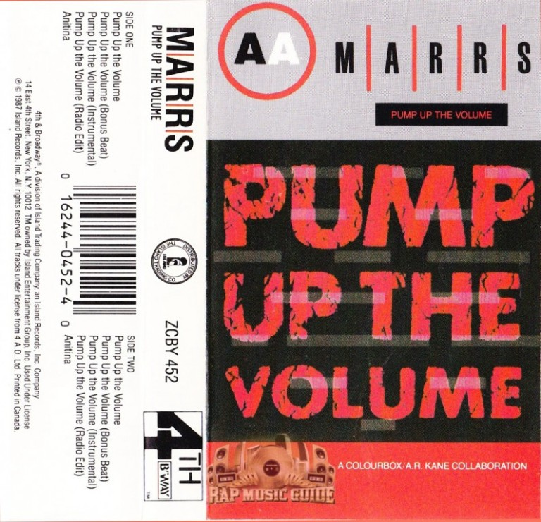 Marrs - Pump Up The Volume open